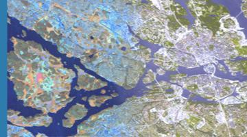 Exempel på satellitbild