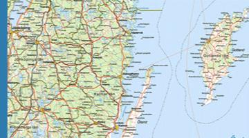 Exempel från Sverigekartan