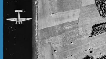 Exempel på analog flygbild